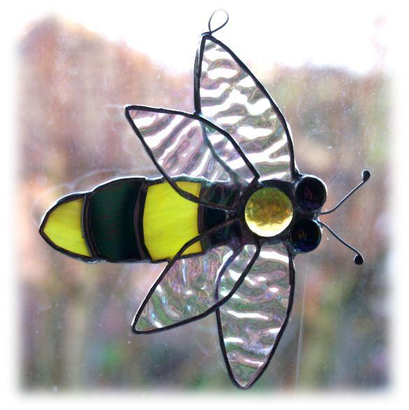 Suncatcher stained glass motorhome folksy | Glass Crafts | Popular Crafts | Craft Juice