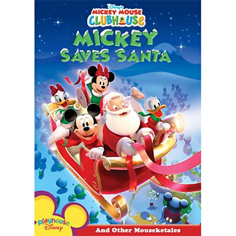 Mickey Mouse Clubhouse: Mickey Saves Santa DVD | Happiest Holidays ...
