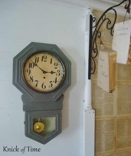 have same clock... need to do a paint job !