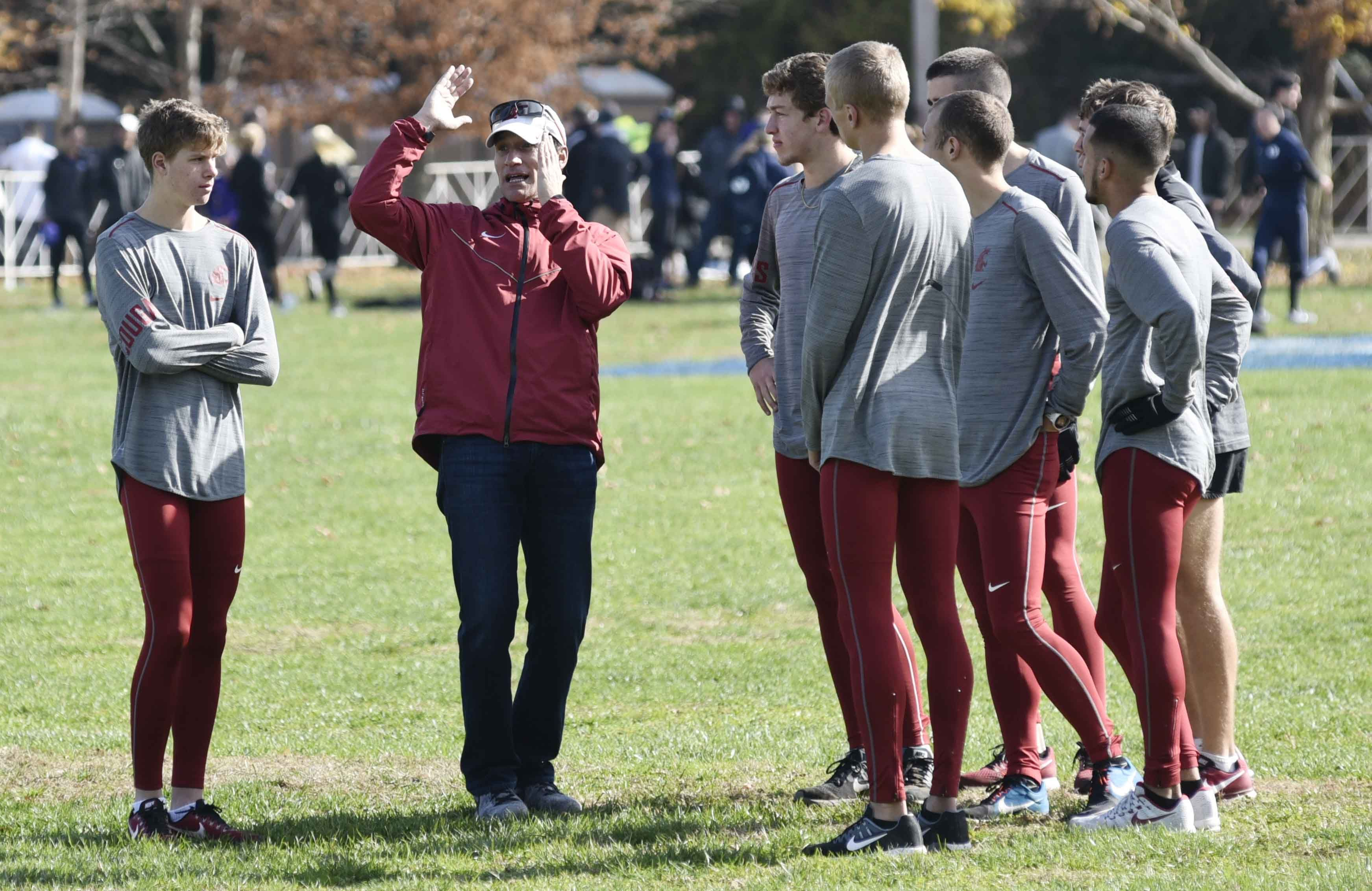 Teams check out NCAA championship course Friday; start