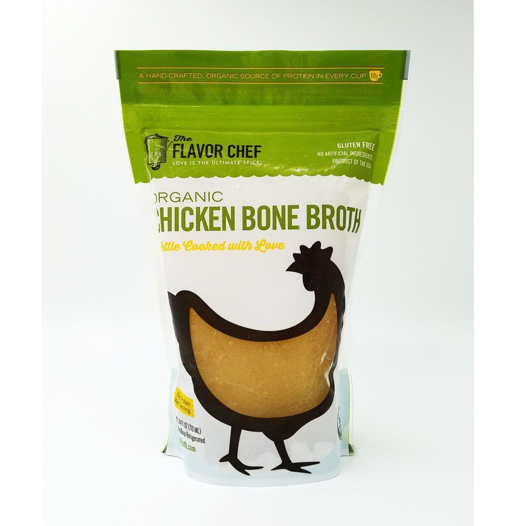 Organic Chicken Bone Broth The Flavor Chef Bone broth