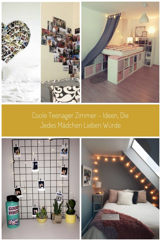 Teenager Zimmer Ideen Madchen Collage Fotos Freunde Selber Machen