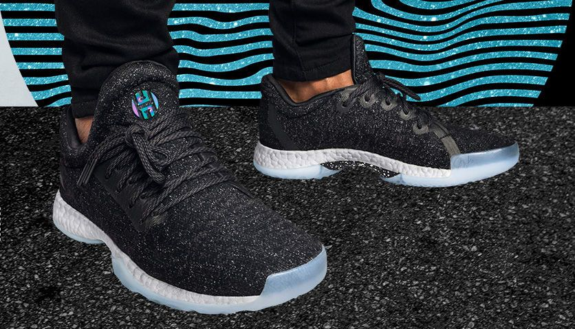 64d6a25d5e5 Adidas Harden LS Night Life On Feet