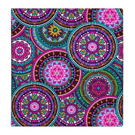 Bright Bohemian Boho Hippy Chic Pattern 3 Ring Binder | Zazzle.com – Iphone wallpaper
