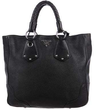 67fe635a394 Prada Vitello Daino Shopper