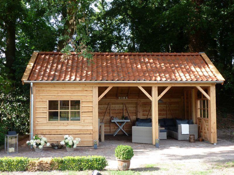 Klassieke schuur bouwen? Tuinbeurs Nederland Pavillon