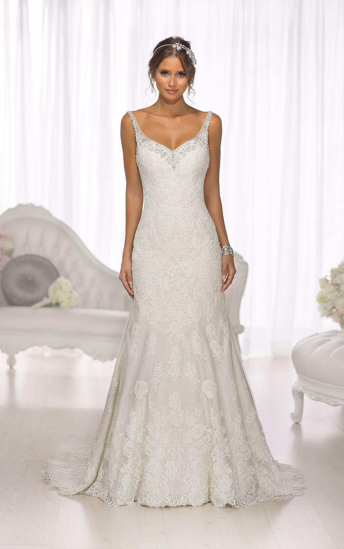 Front of low back robes de la mariée jour j pinterest wedding