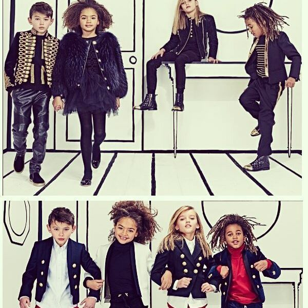 Kids knows best, right? Get ready for the launch of Balmain kids fashion clothing line coming this June 2016. The kids look so haute in their outfit, right? #fashionstatement #obsessedstyle #obsessed_style #obsessed #fashion #kids #style #designer #kidswear #kidsfashion #Balmain #Balmainkids #stylish #design #clothing #line #kid #wear #olivierrousteing #haute #hautecouture #clothes #store