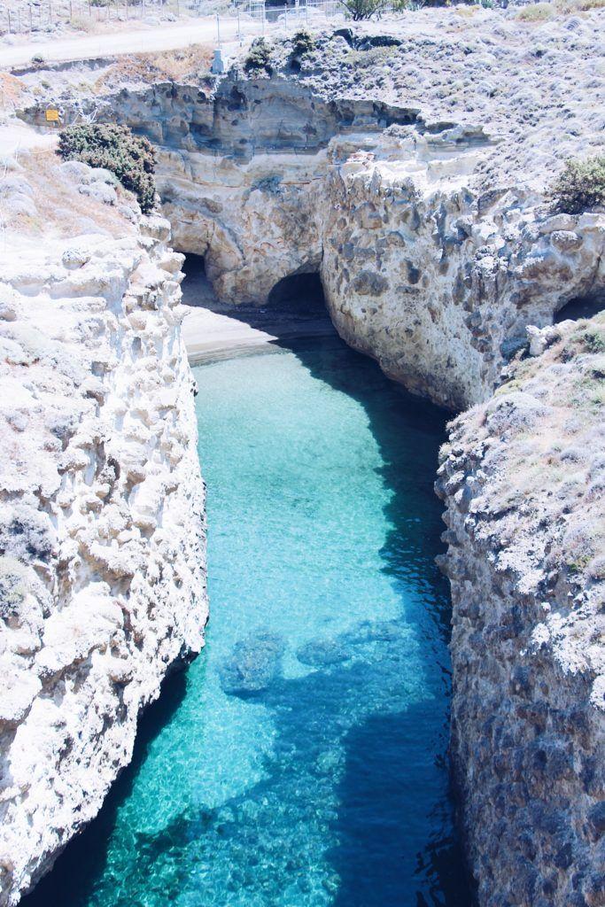 Papafragas Beach | The best beaches on Milos Island | Greece #visitgreece