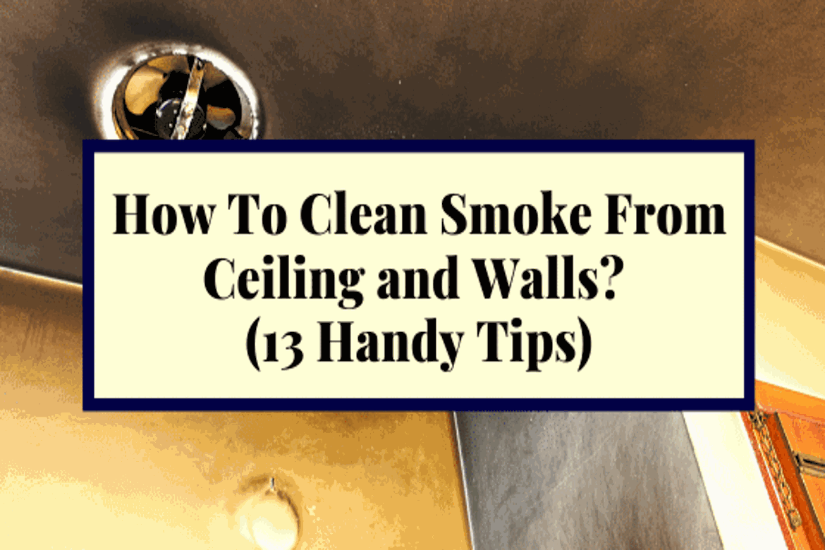 Smoke Damaged Walls And Ceiling Let S Face It Nobody Wants To Deal With Smoke Damage When You Look At An Entire Wall Cov In 2020 Smoke Damage Cleaning Walls Cleaning