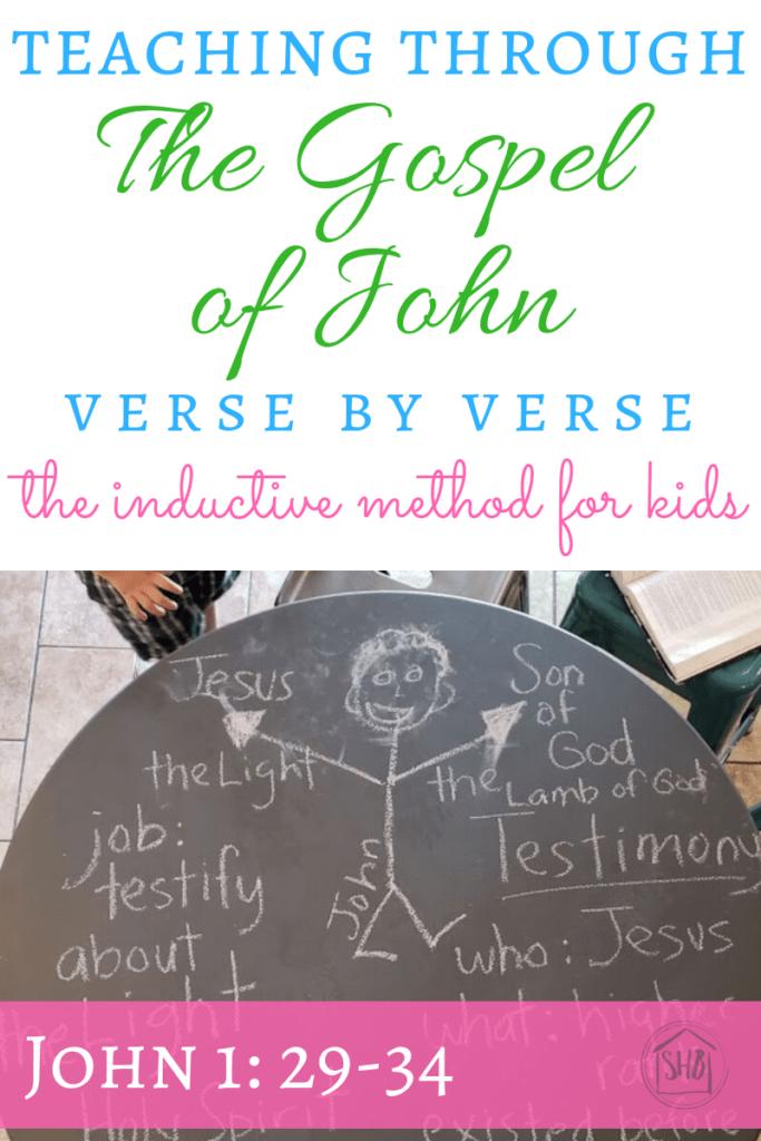 John 1 29 34 Application