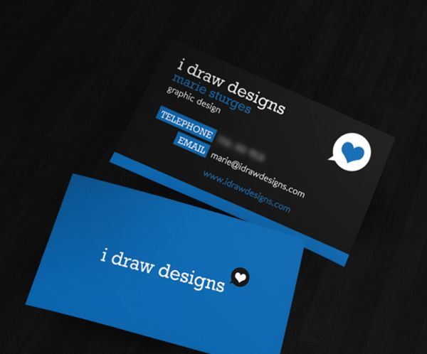 Marie Sturge Exemple Carte De Visite Design Directeur Artistique