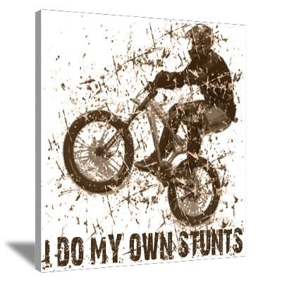 bmx bike wall art | ... > Wall Art > Canvas Art > Mountain ...