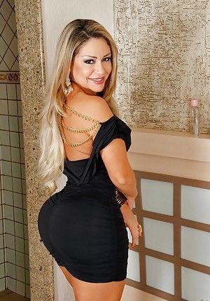 Latina in dress free porn