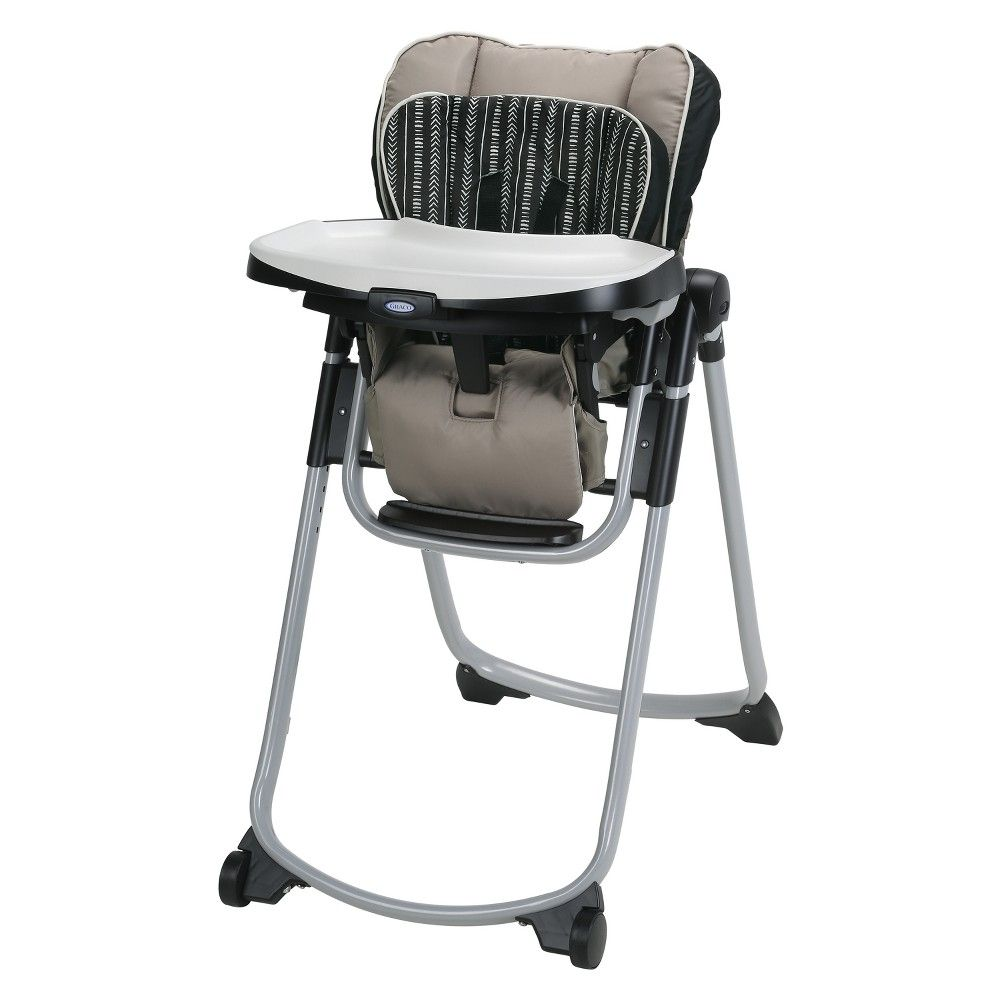 Strange Graco Slim Spaces Highchair Has The Most Compact Fold Only Alphanode Cool Chair Designs And Ideas Alphanodeonline