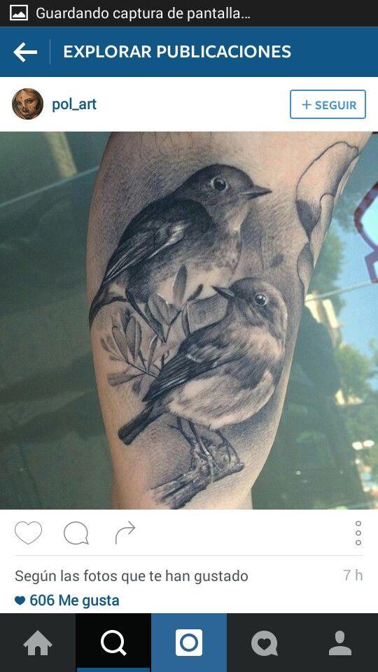 6cbcc8e85f61 Pin de Diego Alejandro Tattoo en Aves varias tattoo