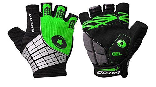 MTB Road Cycling Bike Bicycle racing Half Finger Glove Sport Fingerless Gloves