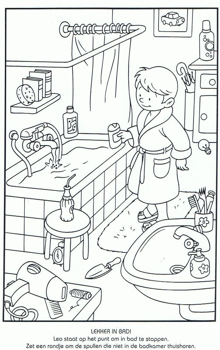 Pin by Deák Enikő on Öltözködés, tisztálkodás Coloring