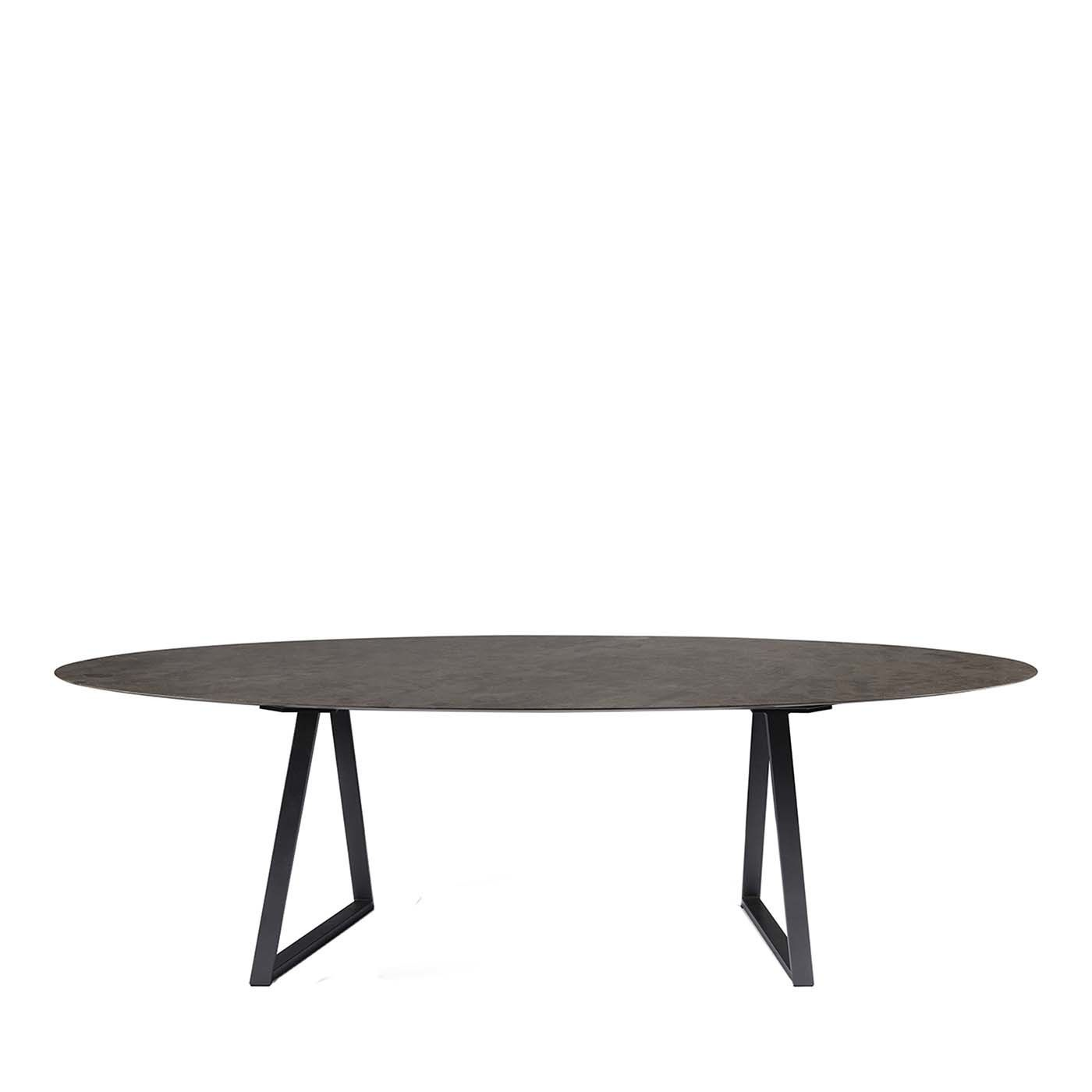 Dritto Oval Dining Table By Piero Lissoni Dining Table Table