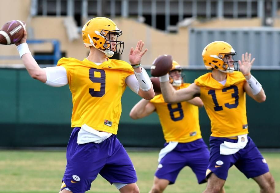 Who S Left In Lsu Qb Room What To Know About Joe Burrow Myles Brennan And A Pair Of Walk Ons Lsu Lsu Tigers Football Lsu Football