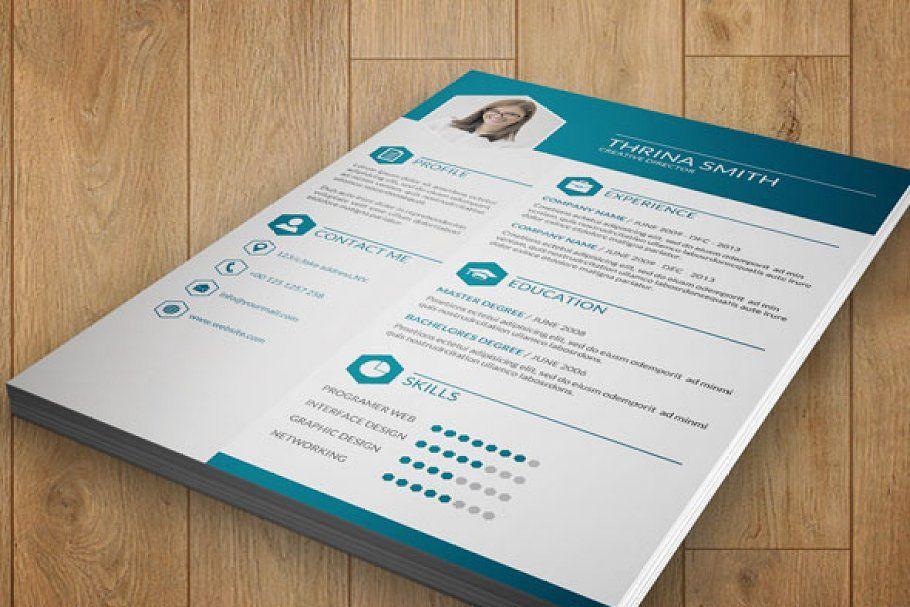 Elegant resumev04 in 2020 one page resume resume words