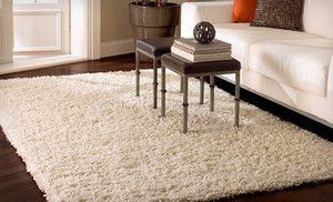 Bobo Shag Rug With Shipping Included Up To 58 Off Multiple Sizes And Colors Available White Shag Rug Contemporary Rugs White Rug