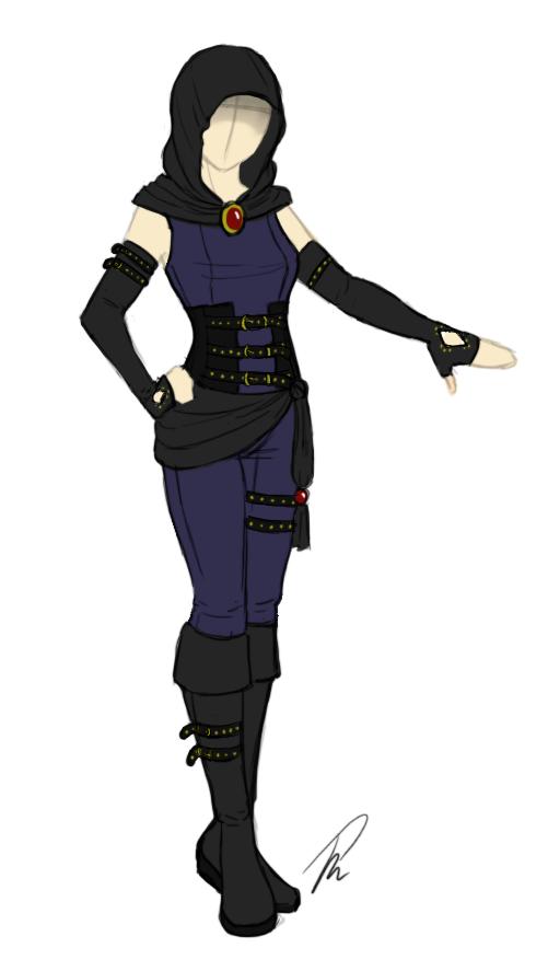 Sorceress Stone costume by KageShio on deviantART