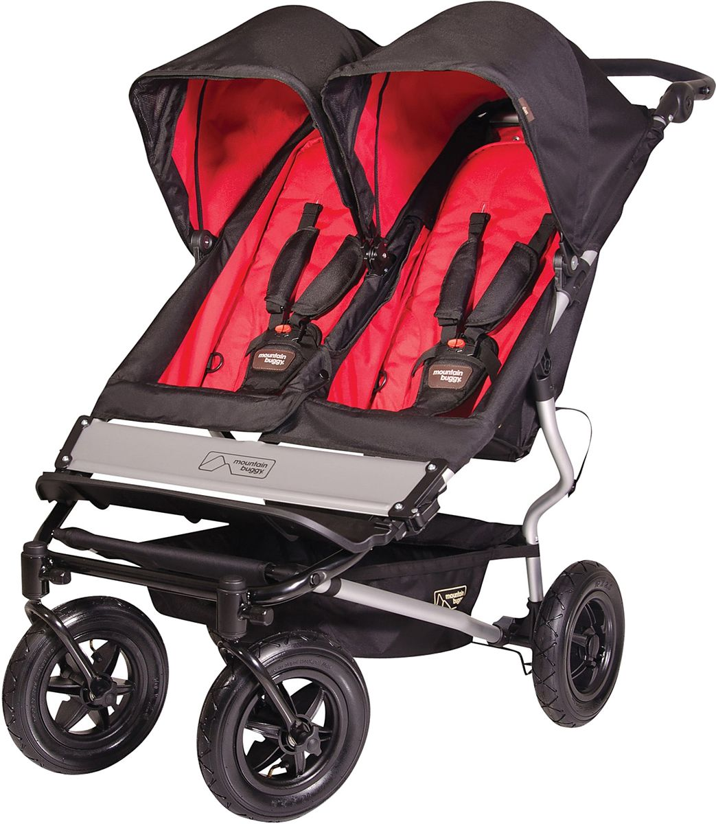 Mountain Buggy Duet Double Stroller 2011 Chilli Mountain