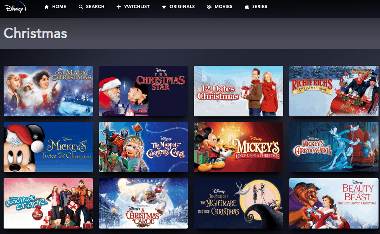 All the Disney Christmas Movies on Disney Plus (And I Mean