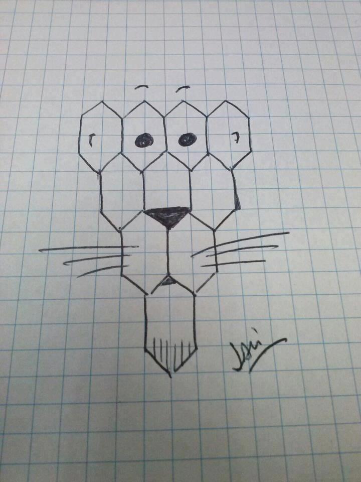 Otras Joyitas Del Papel Cuadriculado Graph Paper Art Pixel Art Easy Drawings