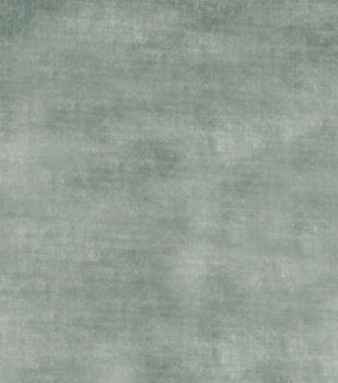 Upholstery Fabric-Jaclyn Smith Theater Velvet Pine