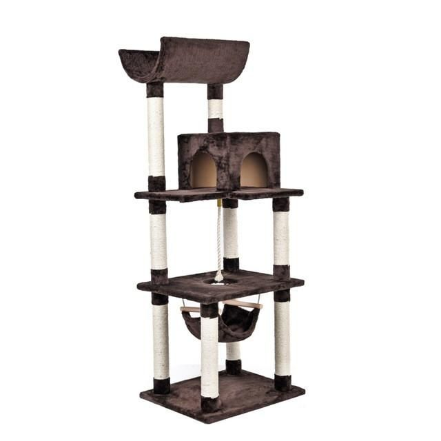 Cat Scratching Post Luxury Cat Tree Cat Scratcher House For Cat Toys ...