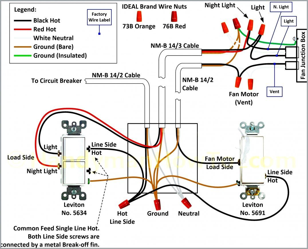 25 Wiring Diagram For 3 Way Switch Ceiling Fan Light