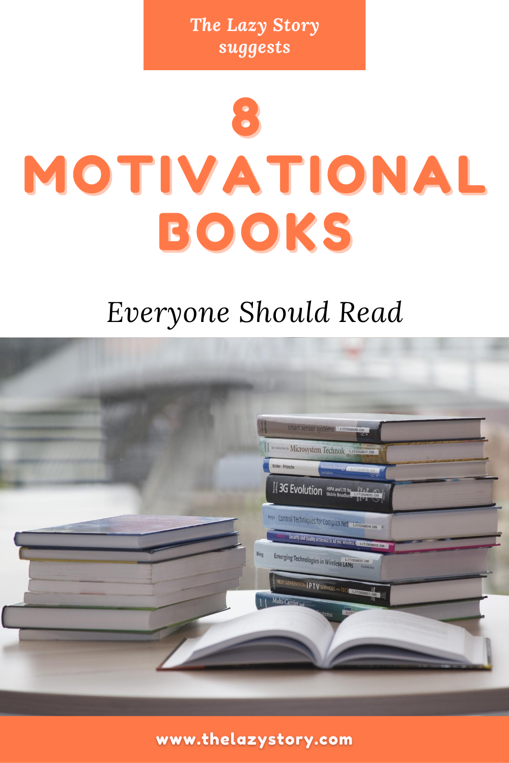 Everybody needs a motivation boost sometimes. Try these books for some inspiration in your life! #lifechangingbooks #booksformotivation #inspiringbooks