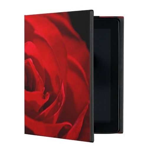 Red Rose For My Valentine iPad Folio Case
