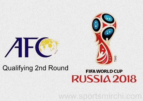 2018 Fifa World Cup Qualification Afc Round 2 Schedule Fixtures Fifa World Cup World Cup Fifa