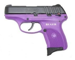 Ruger LC9 9MM Purple, 8 Round For Christmas??!!   My Style
