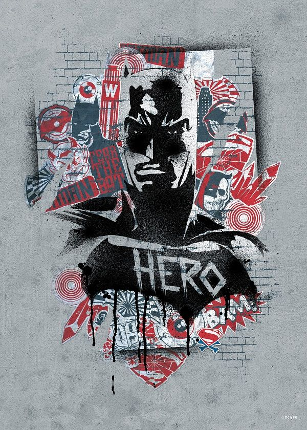 "Official DC Urban Renegades Batman Hero #Displate explore Pinterest""> #Displate artwork by artist ""DC… 