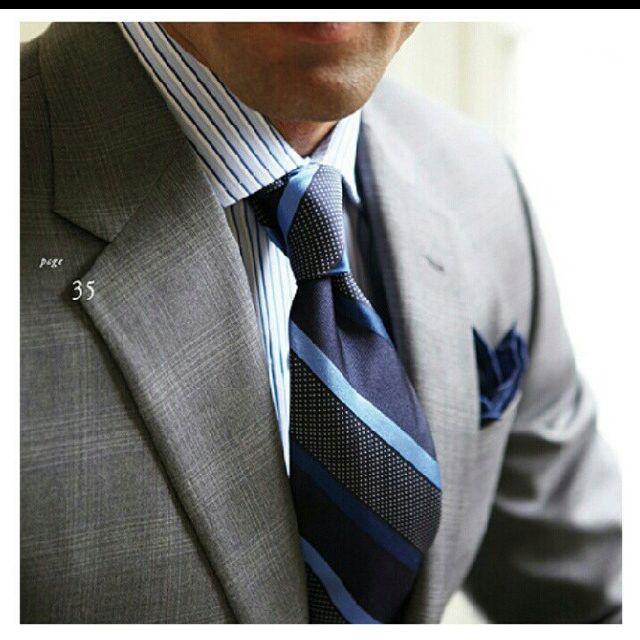 7508f0d84 Blues and Greys Mens Fashion Blog, Suit Fashion, Lifestyle Fashion, Dapper  Gentleman,