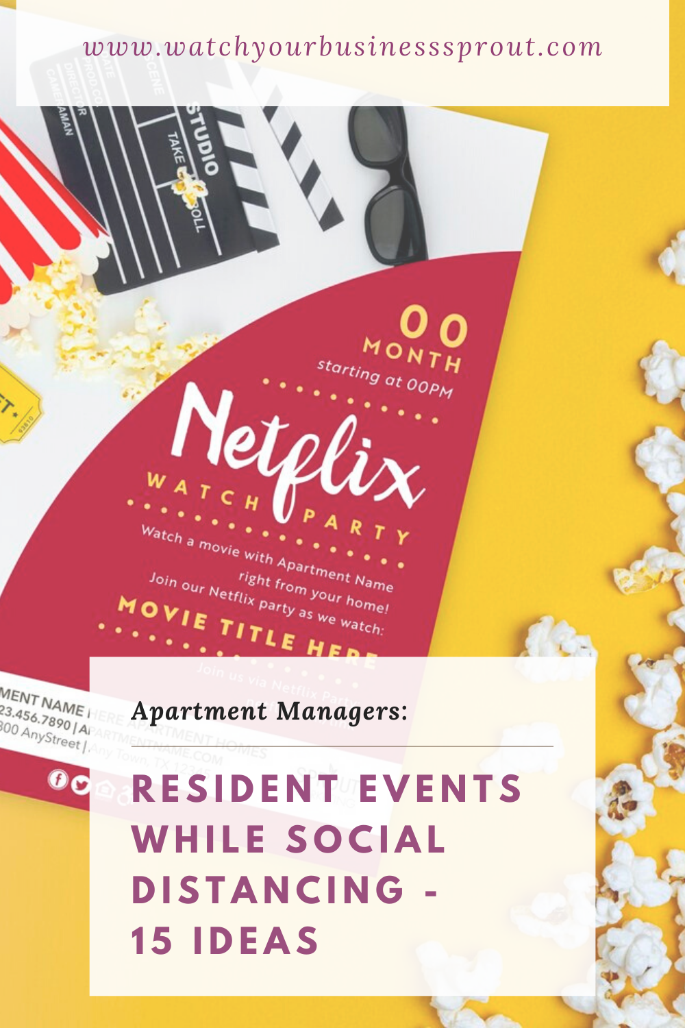 Virtual Resident Event Ideas for 2020 (Social Distancing