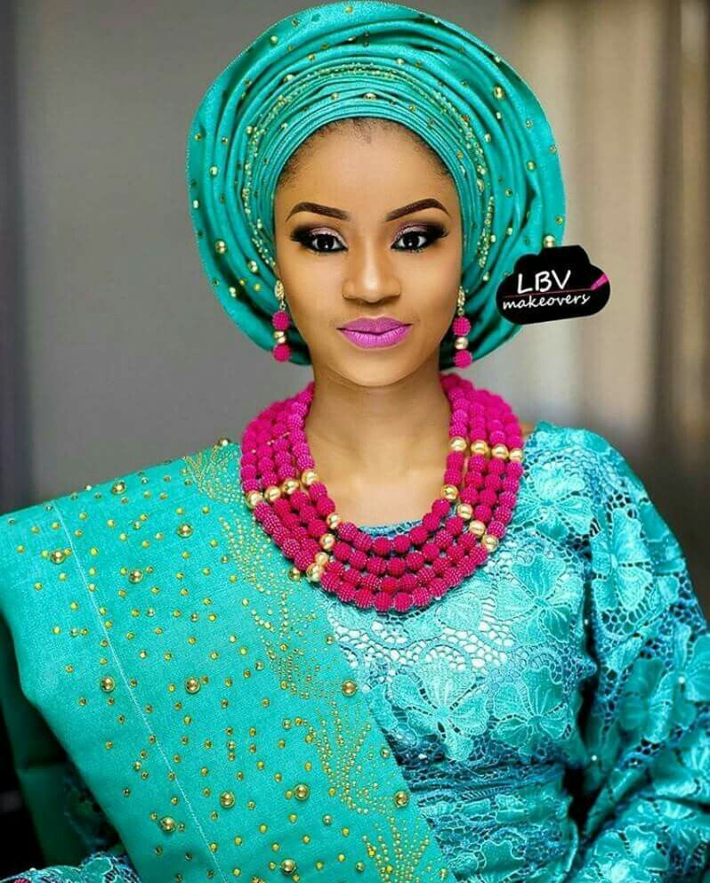 Pin by Kemi Omojola on Nigerian Wedding Outfits | Pinterest ...