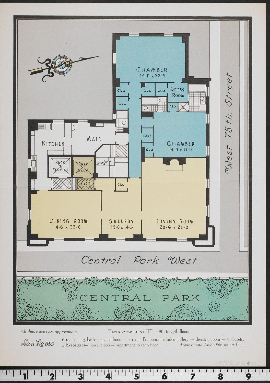 San Remo House plans