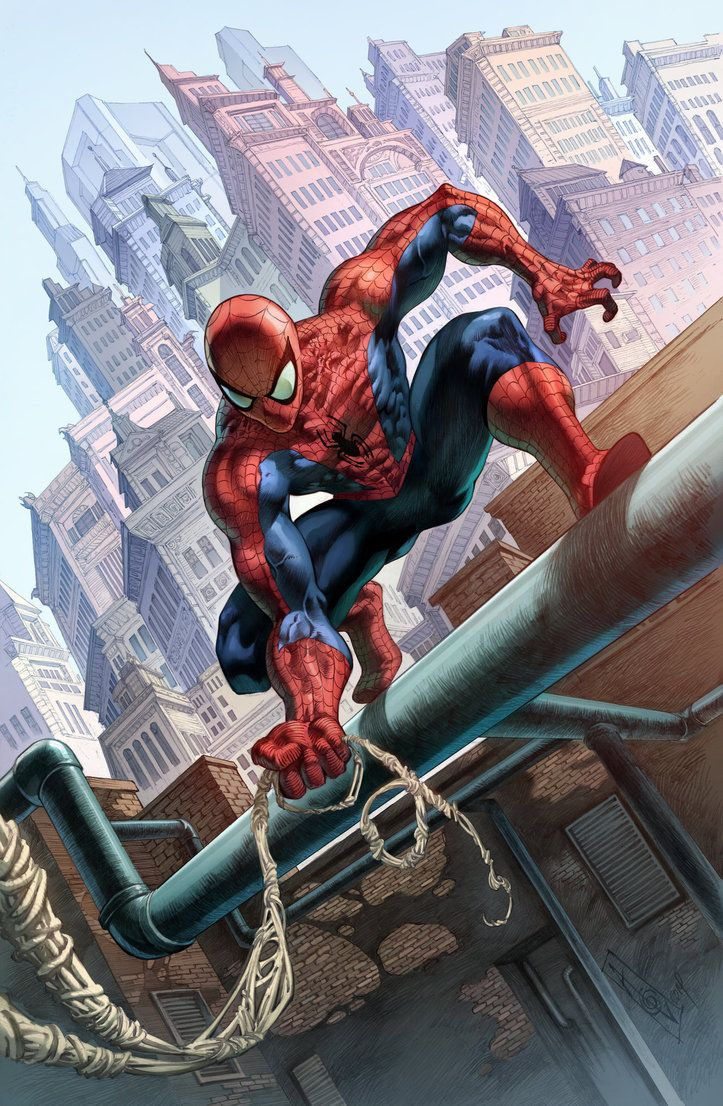 #Spiderman Commission Colors by quahkm on deviantART #yǎnfú