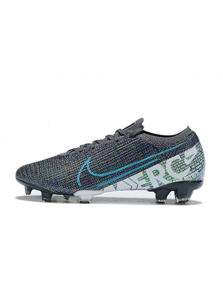 Best Nike Football Boots Nike Mercurial Vapor Xiii Elite Fg Black Blue White Soccer Cleats Firm Ground Mens Size 38 39 40 41 42 43 44 45 46 Em 2020 Chuteira Nike Cano Alto Nike Futebol Nike Football