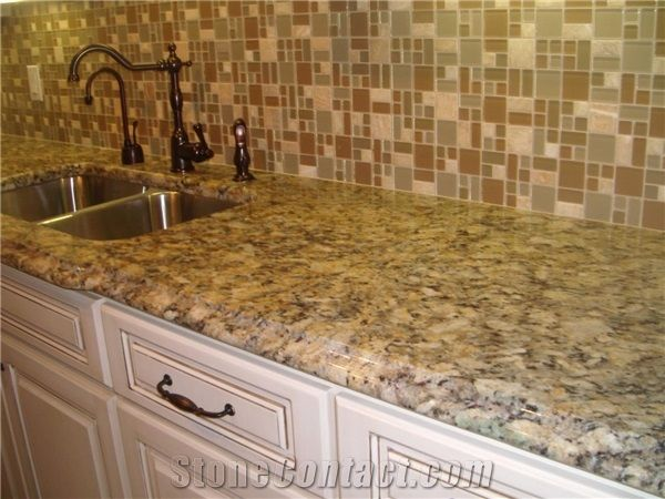 Good Giallo Napoleone Granite Counter Top, Napoleon Yellow Granite Kitchen  Countertops From United States   StoneContact