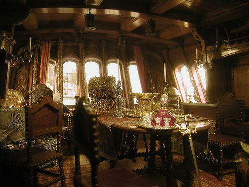 612 Henry Kupjack - 17th Century Pirate Captain's Cabin, ca. 1680 | Flickr - Photo Sharing!