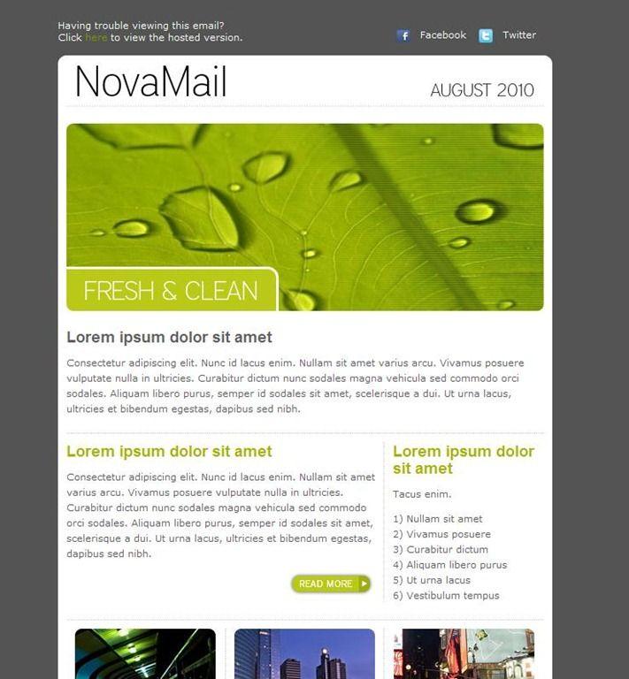 modern newsletter template 21 novamail newsletter newsletter