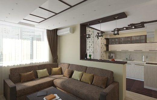 diseño salones con cocina americana | Living room | Pinterest ...