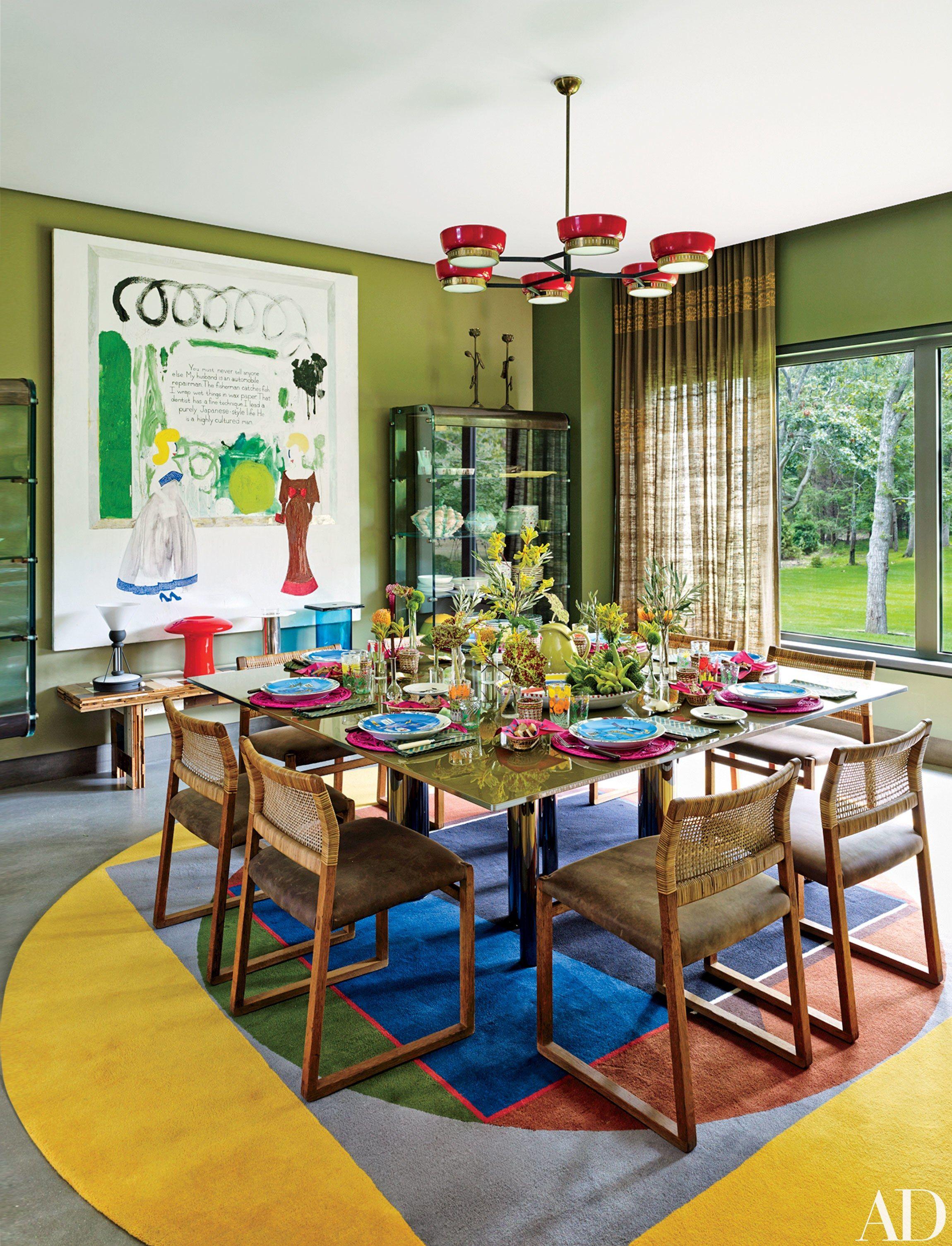 Interior designer muriel brandolini s vibrant hamptons - Hamptons beach house interior design ...