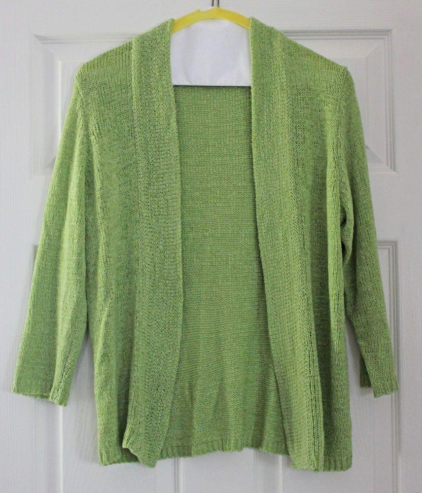 August SIlk Sweater Pastel Lime Green #AugustSilk #Cardigan ...
